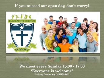 Missed open Day add