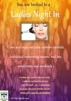 Master - Ladies Night leaflet